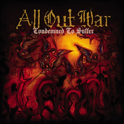 All Out War - Condemened to Suffer CD Cover